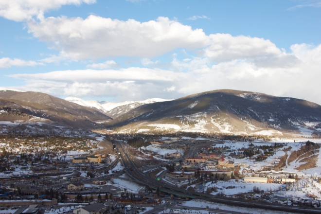 Silverthorne, CO and the Continental Divide